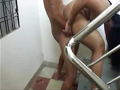 Indian desi fuck Pleasure at staircase